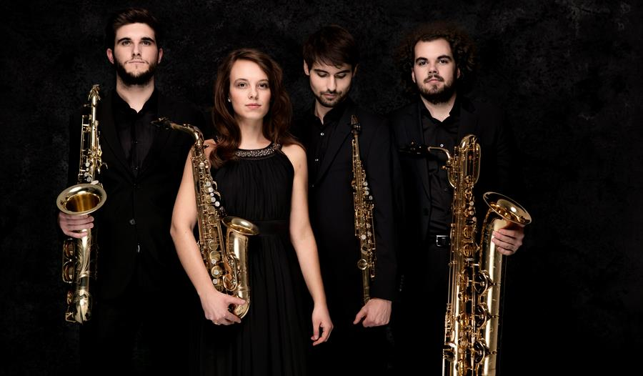 Luton Music Club Arcis Saxophone Quartet