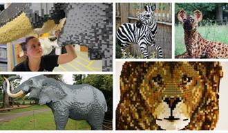 Great Brick Safari arrives at Woburn Safari Park!