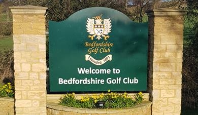 welcome to bedfordshire golf