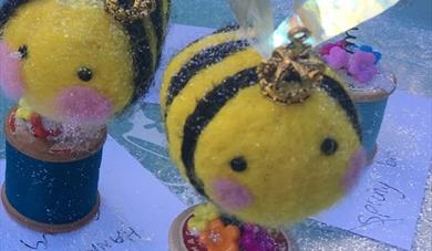 Easy Beesy Felt Workshop for Kids