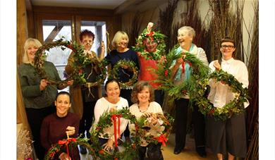 Christmas Willow Workshops at Jordans Mill