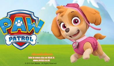 Paw Patrol at Woburn Safari Park